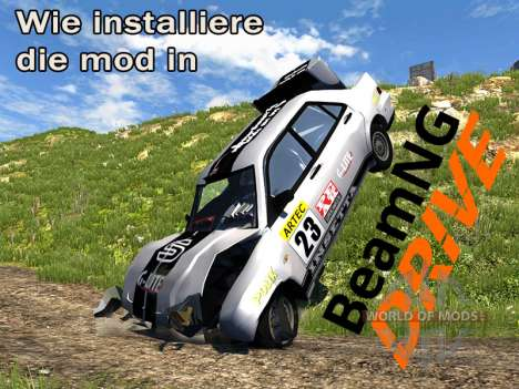 Wie installiere Mods in BeamNG.drive