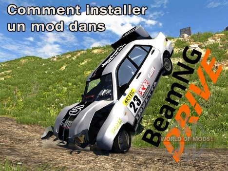 Comment installer des mods dans BeamNG.drive
