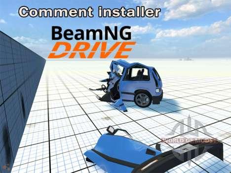 Notice de montage BeamNG Drive