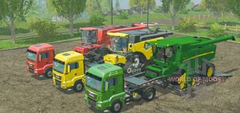 Mods pour Farming Simulator 2015