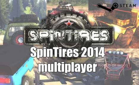 Jeu sur le réseau dans SpinTires 2014