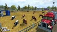 Die Kuh Landwirtschafts-Simulator 2013 - screenshot des Spiels