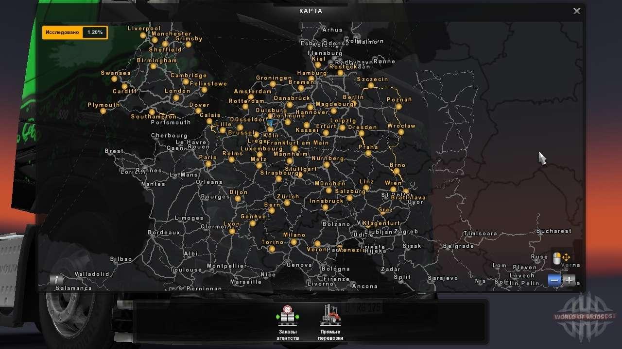 Euro Truck Simulator 2 Karten Ets 2 Map Mods