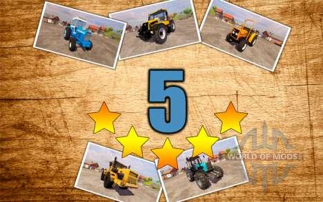 5 meilleurs tracteurs pour Farming Simulator 2013