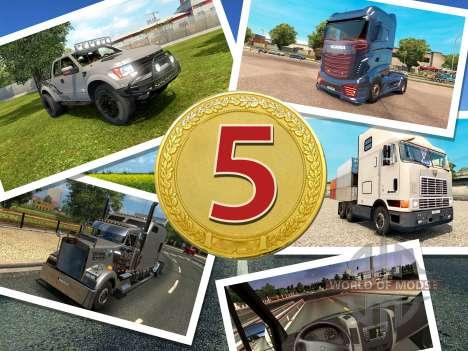 TOP-5 für ETS 2
