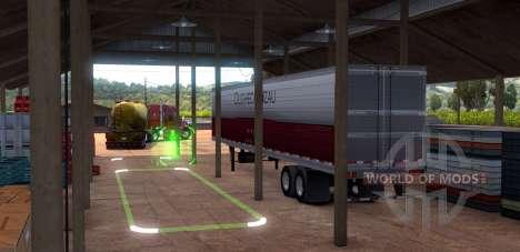 Parkplatz dans American Truck Simulator