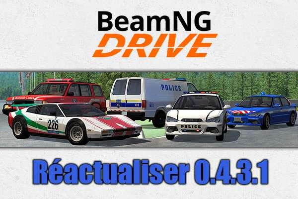 Mise à jour pour BeamNG Drive