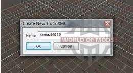Camion de nom en choisissant