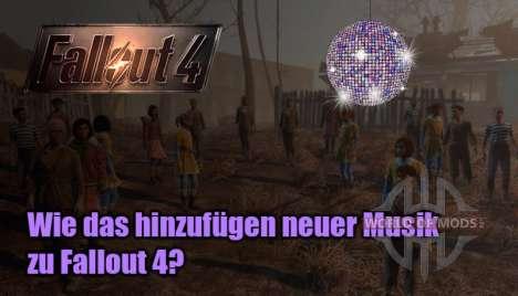 hinzufügen Musik zu Fallout 4?