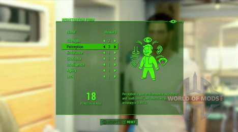 Das Besondere system in Fallout 4