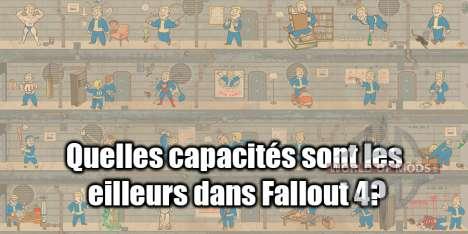 Compétences dans Fallout 4