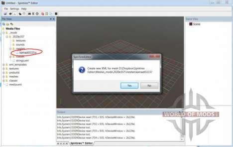 Création du XML fichier de maillage