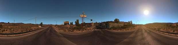 American Truck Simulator - Wüste panorama