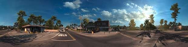 American Truck Simulator - Kreuzung panorama