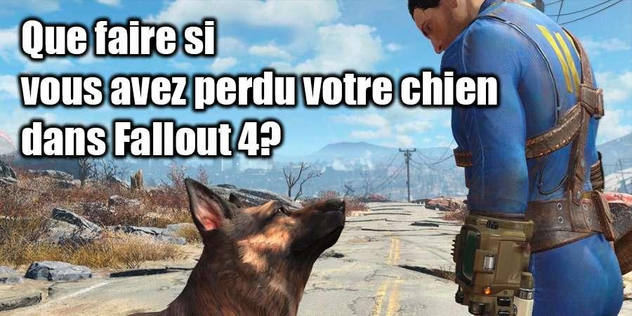 Manquant Dogmeat dans Fallout 4