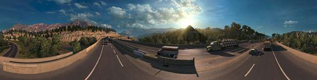 American Truck Simulator - highway-panorama