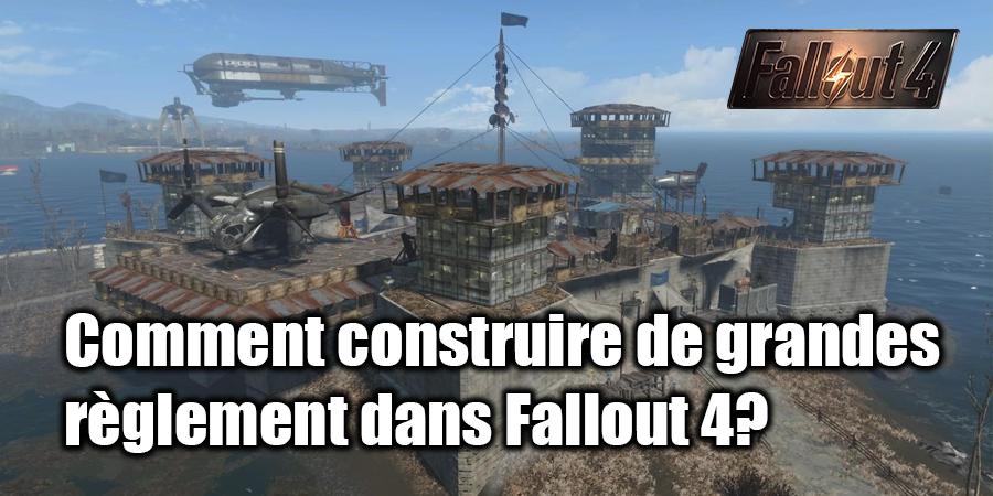 Comment construire une maison dans Fallout 4