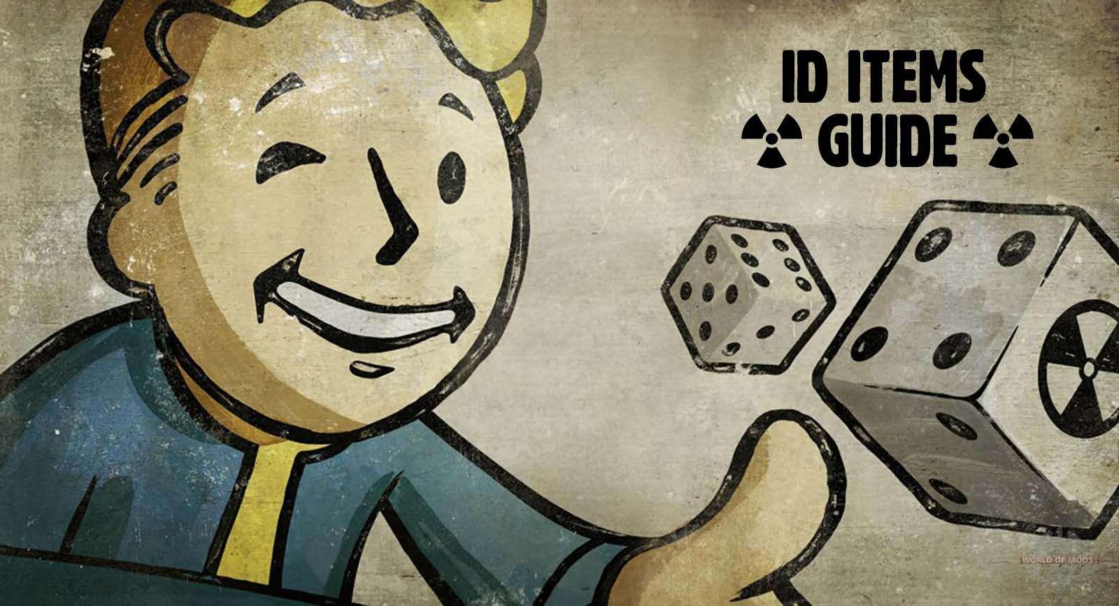 Fallout 4 caoutchouc id