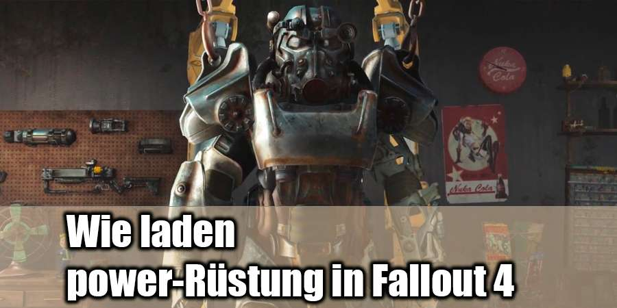 How to charge power-Rüstung in Fallout 4