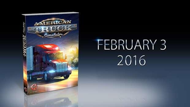 La date de publication de l'American Truck SImulator