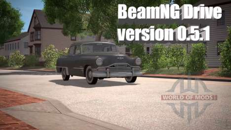 BeamNG Lecteur de la version 0.5.1