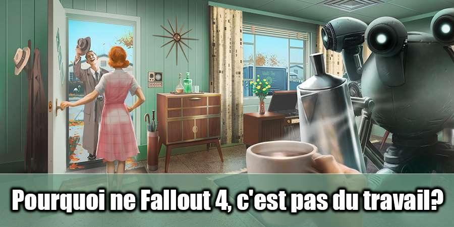 Pourquoi ne Fallout 4 ne fonctionne pas?