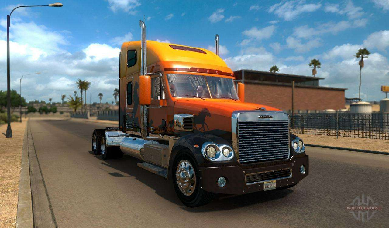 American Truck Simulator Voitures Et Camions
