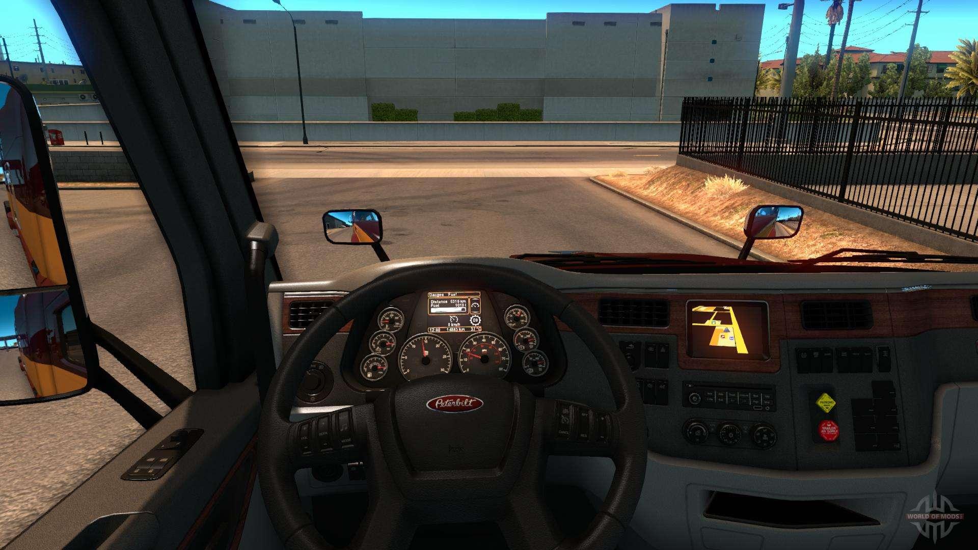 American Truck Simulator-Interieur - mit-download-Interieur für ATS