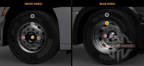Ultimate Wheels Anpassung für ETS 2
