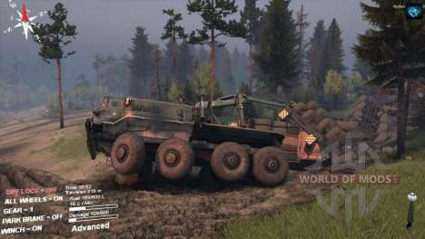 SpinTires crashed