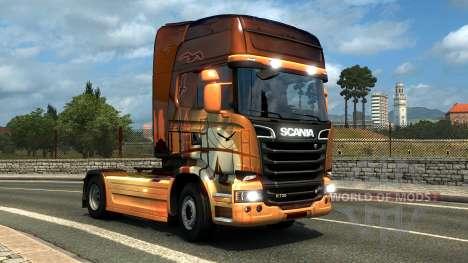 DLC le hongrois et le turc paintjobs pour Euro Truck Simulator 2