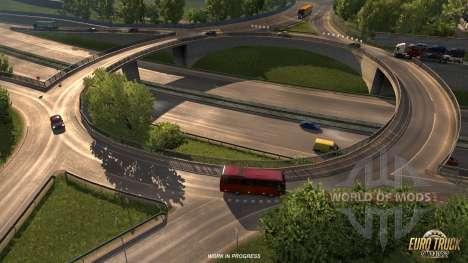 Extended Straßeninfrastruktur