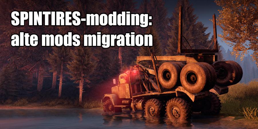 Migration von alten mods