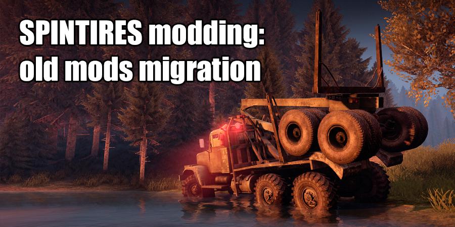 Migration of old mods