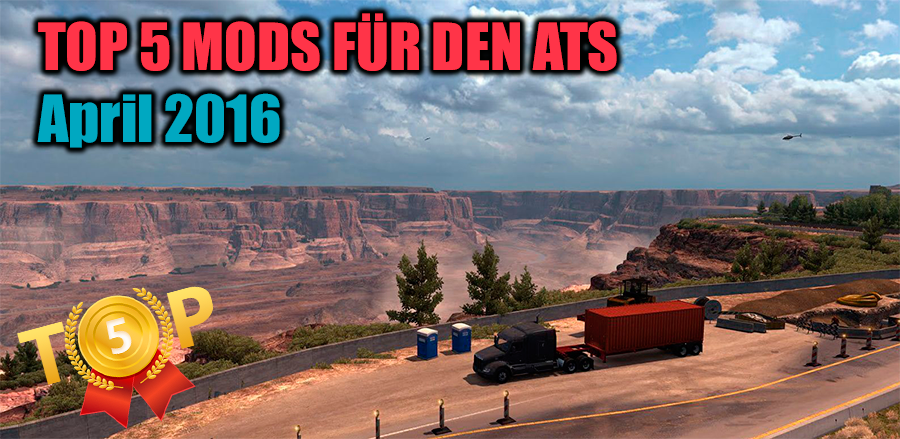 TOP 5 mods für American Truck Simulator