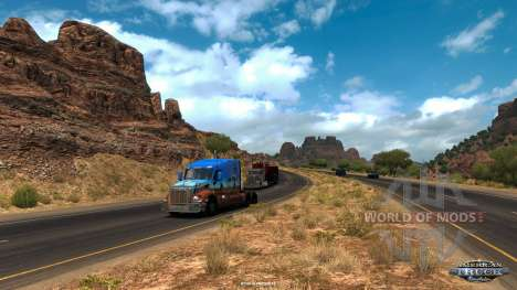 L'Arizona vue dans American Truck Simulator