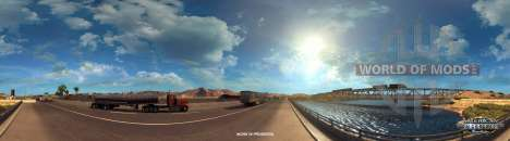 Colorado River in der Nähe von Kingman, American Truck Simulator