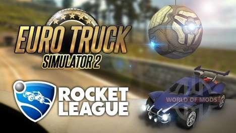 Un peu de Rocket League dans Euro Truck Simulator 2