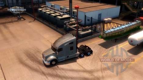 Avancé Attelage de Remorque American Truck Simulator