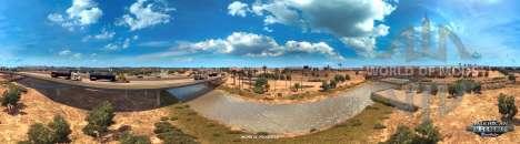 Colorado River in der Nähe von Yuma, American Truck Simulator