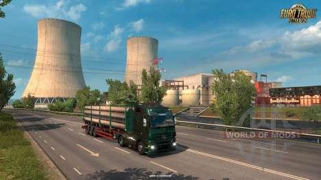 Nouvelles zones industrielles en France ETS 2