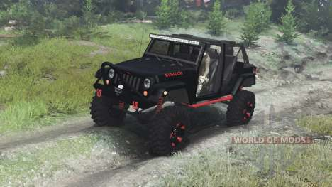 SpinTires Jeep Wrangler Rubicon