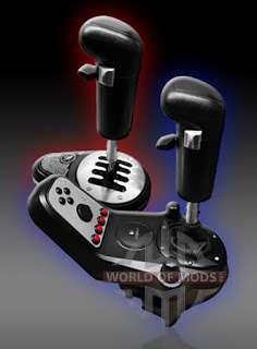 SKRS 18 vitesses Pommeau de levier de vitesses USB pour American Truck Simulator
