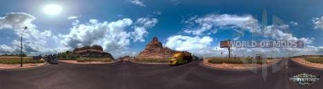 Panorama de l'Arizona, de Camions en Amérique du Simuulator