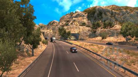 Neue Route 101 in American Truck Simulator