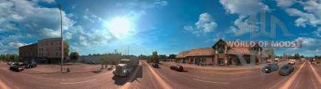 Panorama de l'Arizona, de l'American Truck Simulator