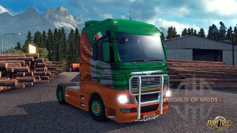 Irish Fenster Flagge für Euro Truck Simulator 2
