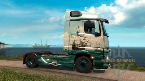 à Travers l'Océan pour Euro Truck Simulator 2