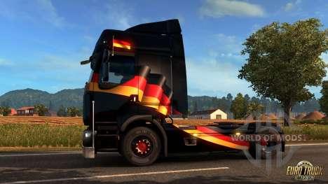Deutsch Fenster Flagge für Euro Truck Simulator 2