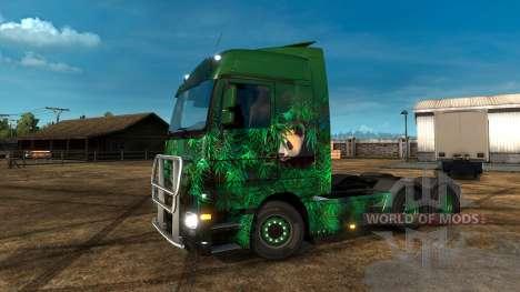 Lucky Panda-skin pour Euro Truck Simulator 2